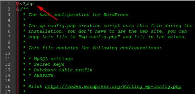 Скрипт для создания wp-config.php